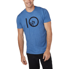 tentree Ten SS Tee Men blue jay/blue heather